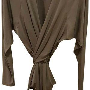 BCBGMAXAZRIA Jersey Long Sleeve work/office dress